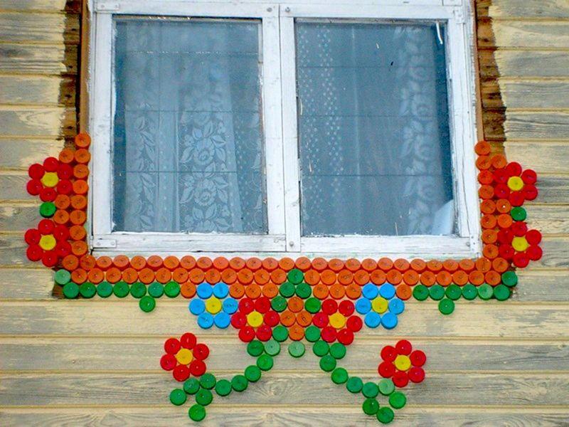 Поделки своими руками на окно фото