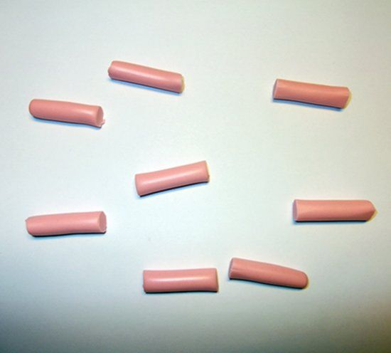 Восемь кусков для восьми пальцев