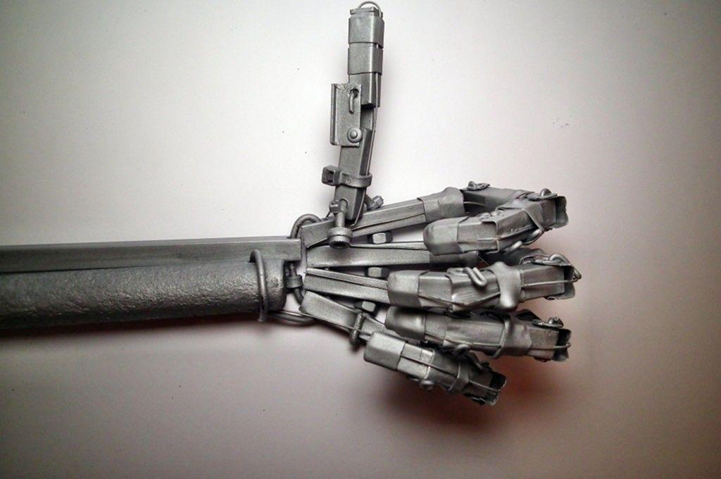 Рука терминатора своими руками на сайте самоделок (sTs) 004 МозгоЧины