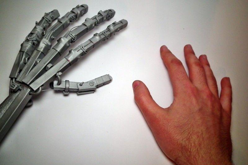 Сделать руку терминатора своими руками