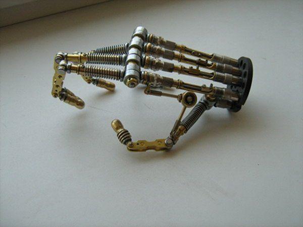 Как сделать остатки киборга своими руками (Ворклог) (Фото 65)