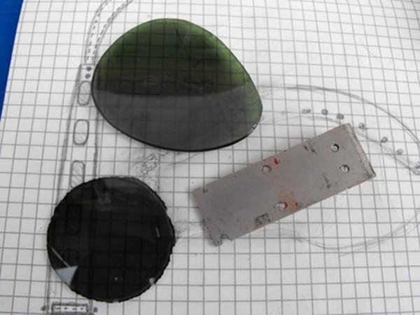 Самодельные стимпанк очки (Фото 28)