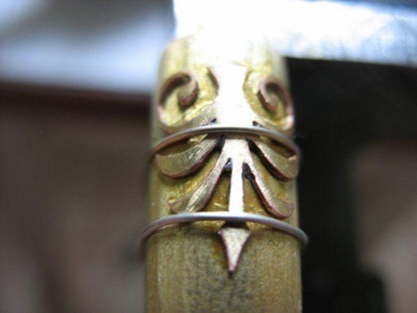 Винтажная флешка. Ч.2 Боковые элементы. (Фото 19))