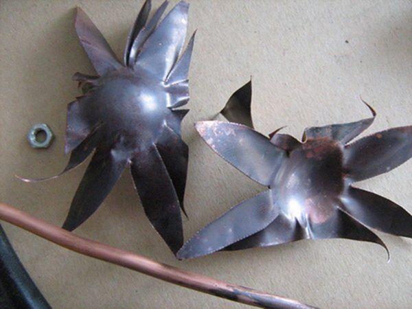 Цветок из металла (ворк) (Фото 17)