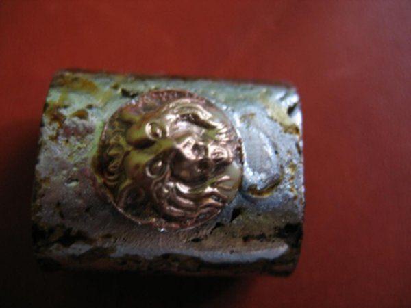 Винтажная флешка. Ч.5 Львы на колпачке. (Фото 13))