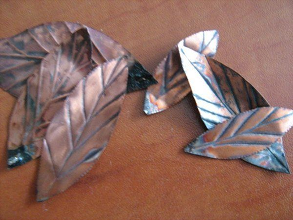 Цветок из металла (ворк) (Фото 27)