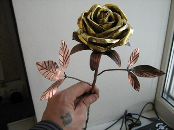 Цветок из камней своими руками фото 125