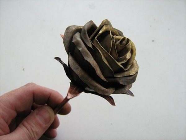 Цветок из металла (ворк) (Фото 25)