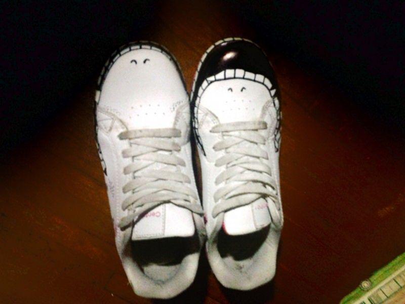 Реставрация кроссовок своими руками 12