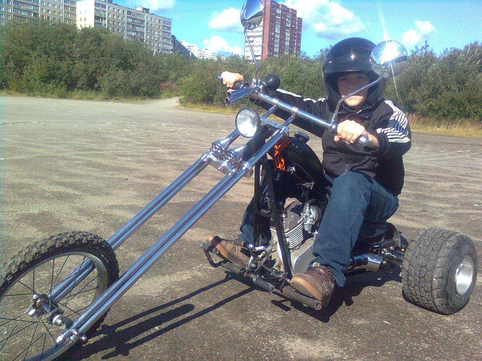 Трицикл своими руками из бензопилы урал
