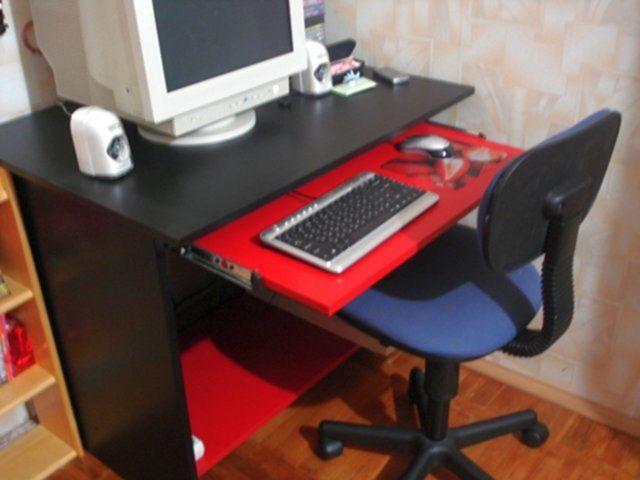 Изготовление своим руками компьютерных столов