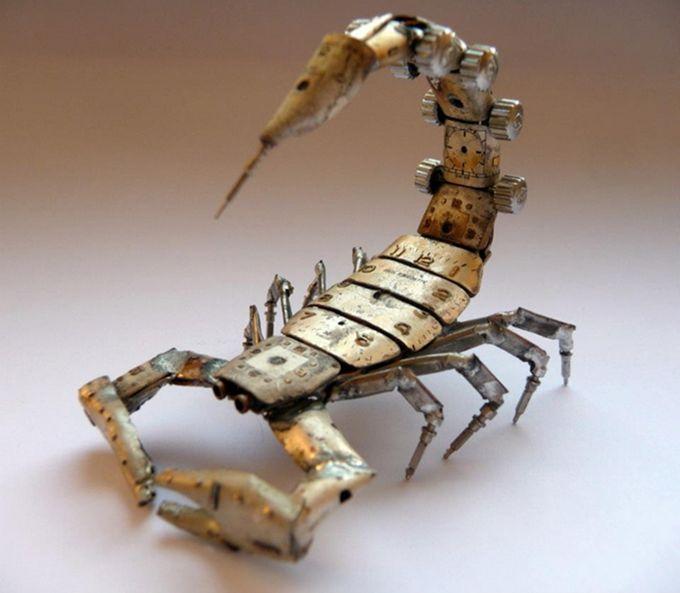 Поделка скорпион своими руками - Vingtsunspb.ru