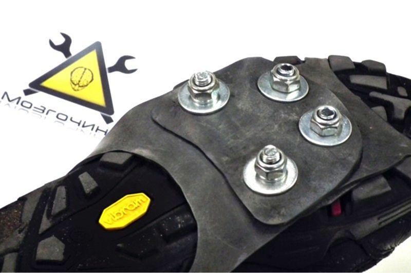 Самодельные ледоходы. Шипы на обувь своими руками .DIY debacle by sTs (www.mozgochiny.ru)  - 012