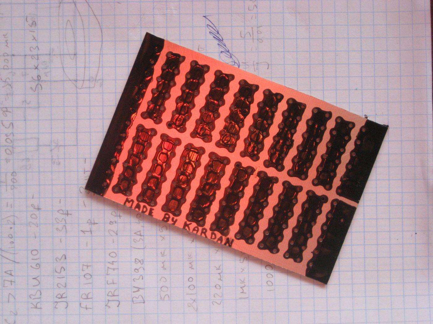 Солнечная батарея из транзисторов Каталог самоделок 77