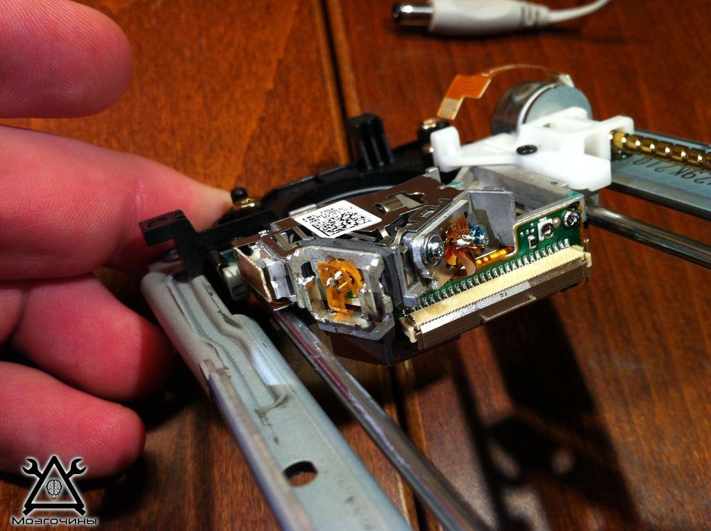 Лазер с дисковода своими руками 24