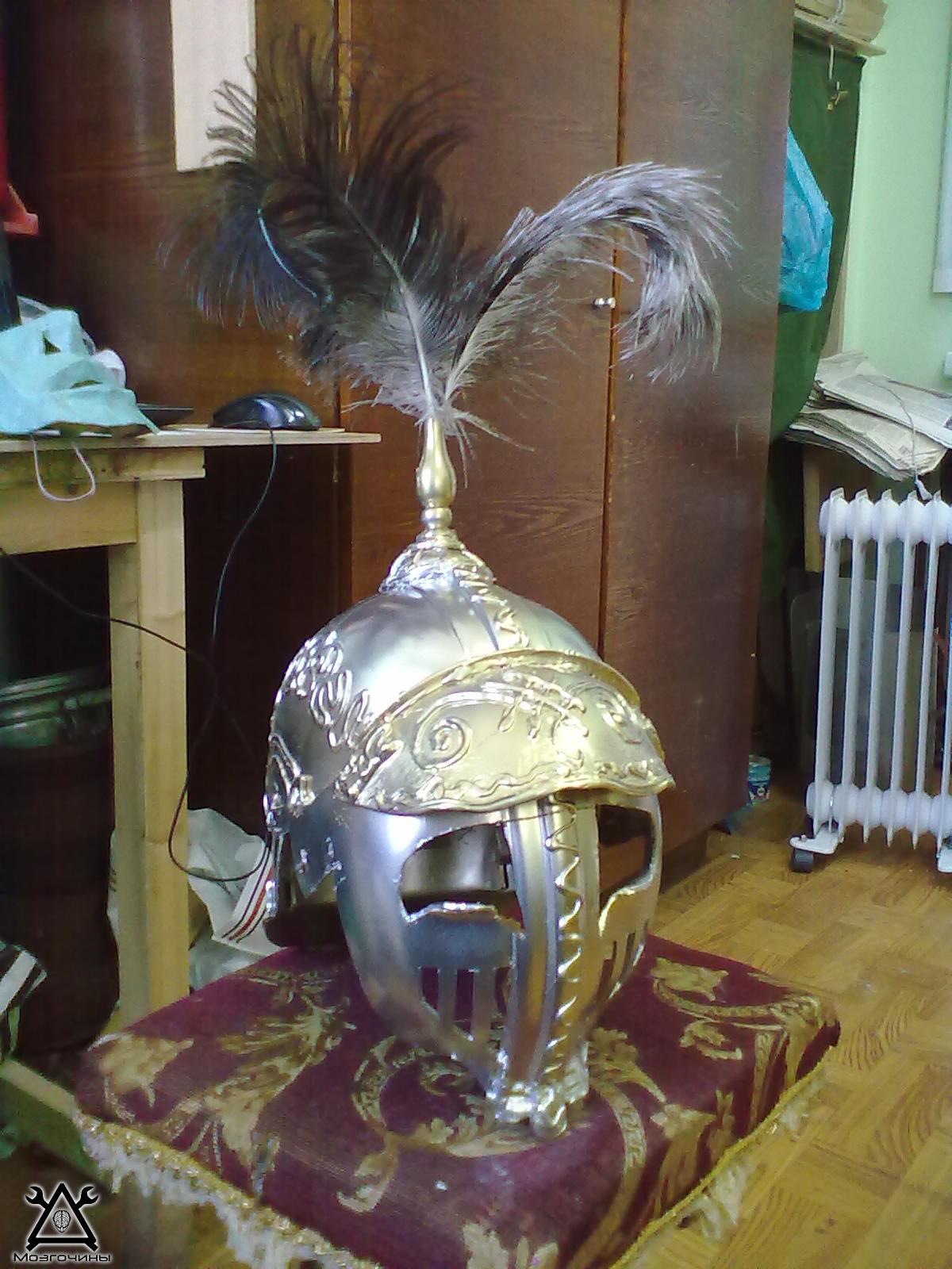 Шлем своими руками из бутылки 31