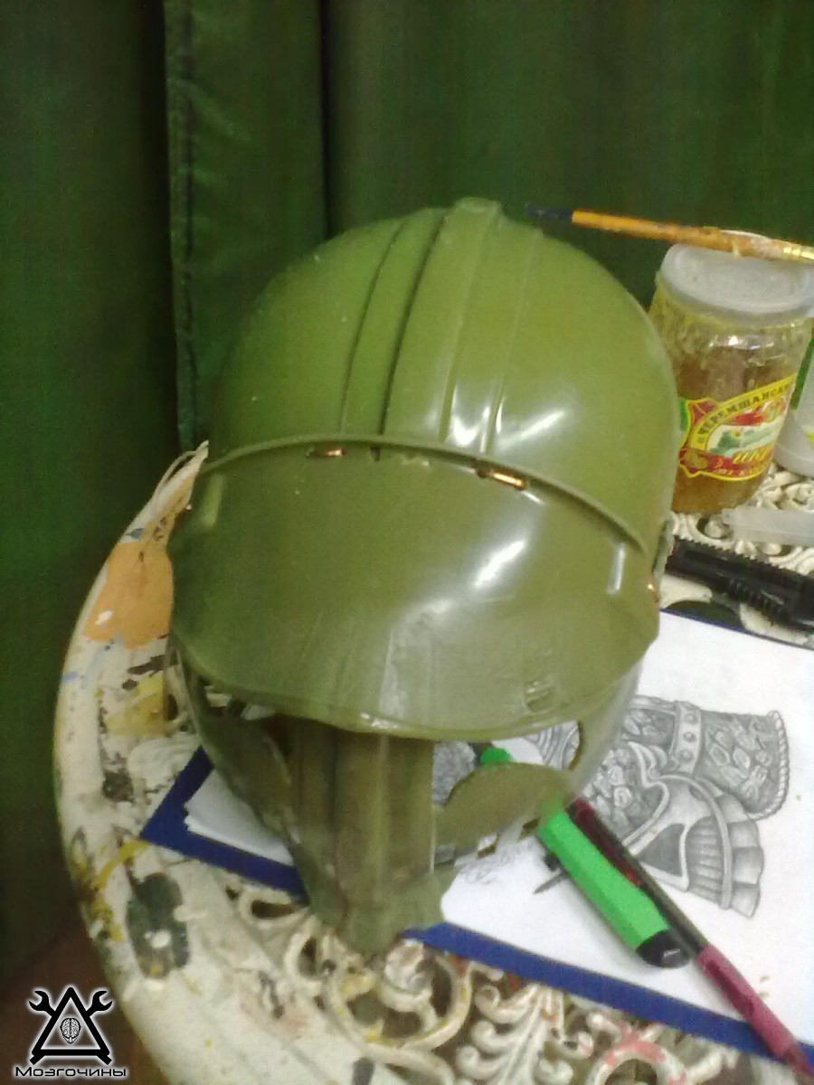 Как сделать шлем рыцаря из пластиковой бутылки