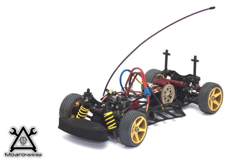 Радиоуправляемая машинка handmade
