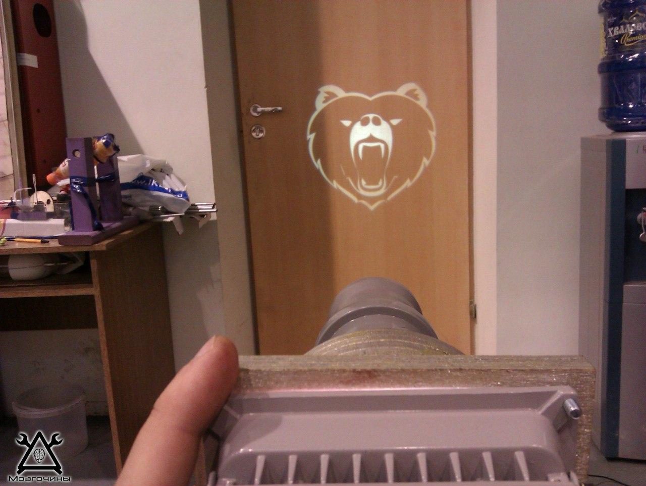 Проектор на стекло своими руками из телефона