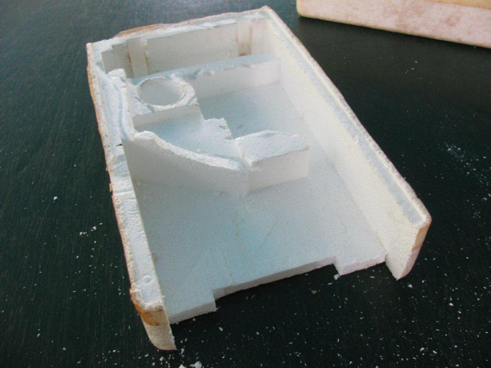 Как сделать яхту из пенопласта - Изобретения 44