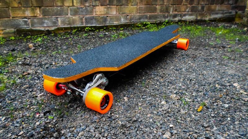 Как самому сделать скейтборд 780
