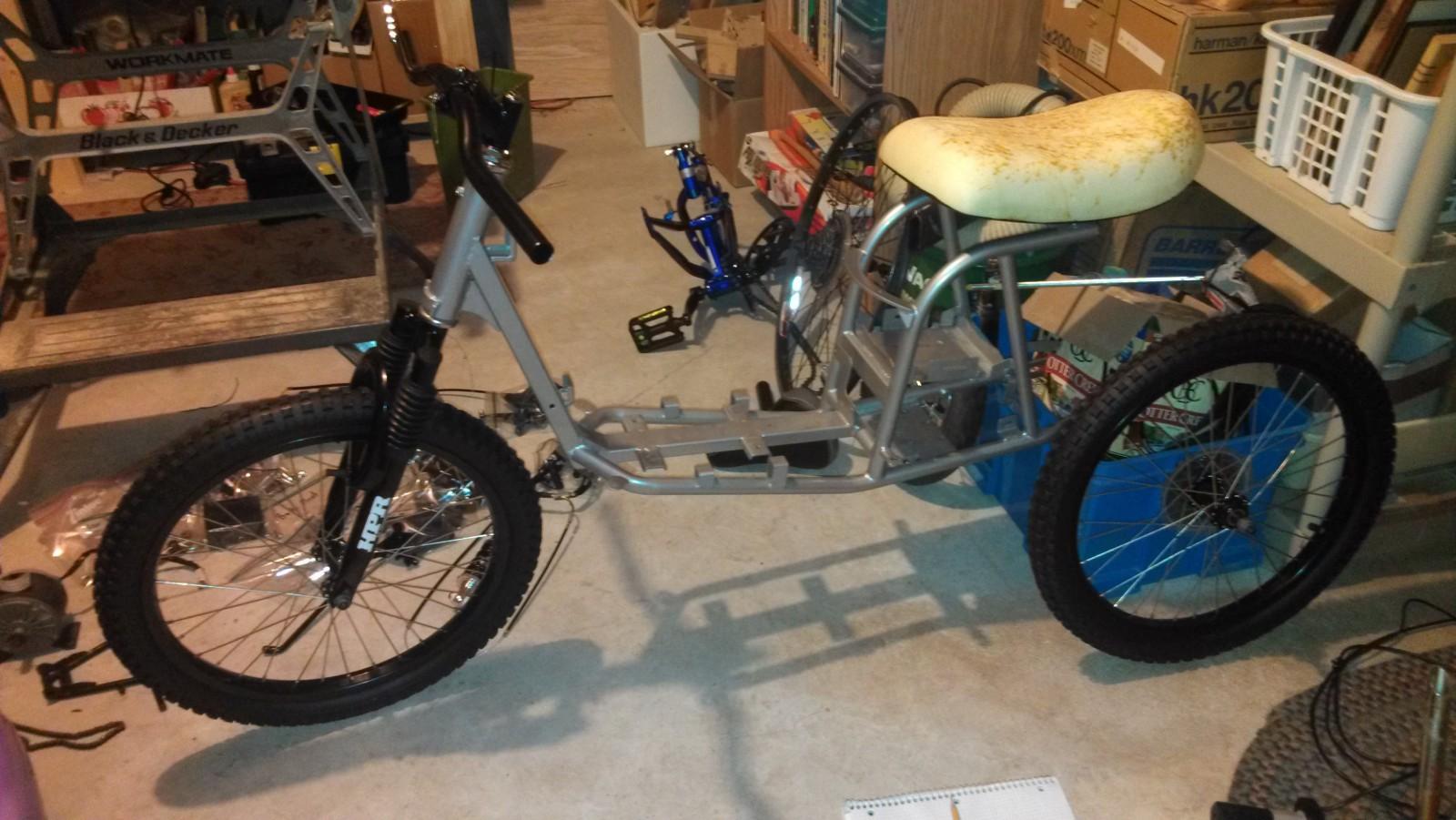 Электровелосипед своими рукам