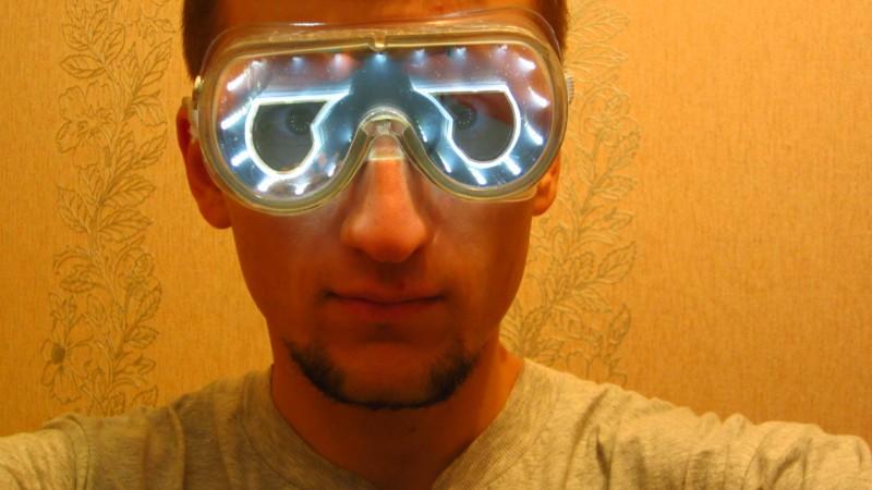 Мозго Очки своими руками - необычные самоделки к карнавалу или костюму супергероя от sTs - Brain Glasses  from mozgochiny(20)