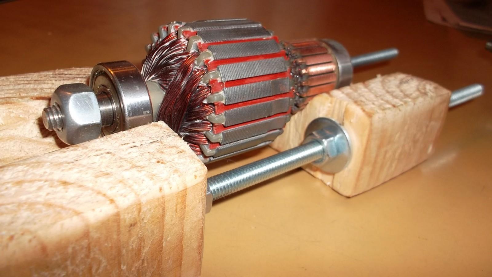 Пошаговая инструкция перемотки электродвигателей своими руками