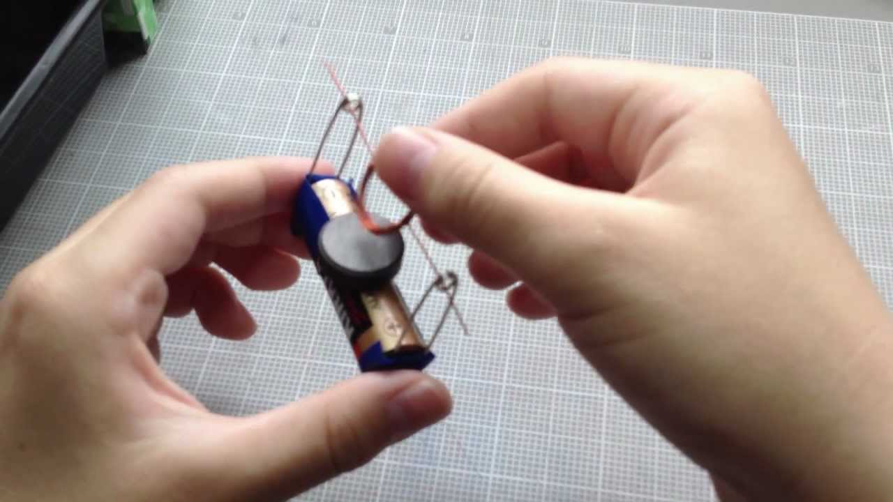 Как сделать простейший магнит 246
