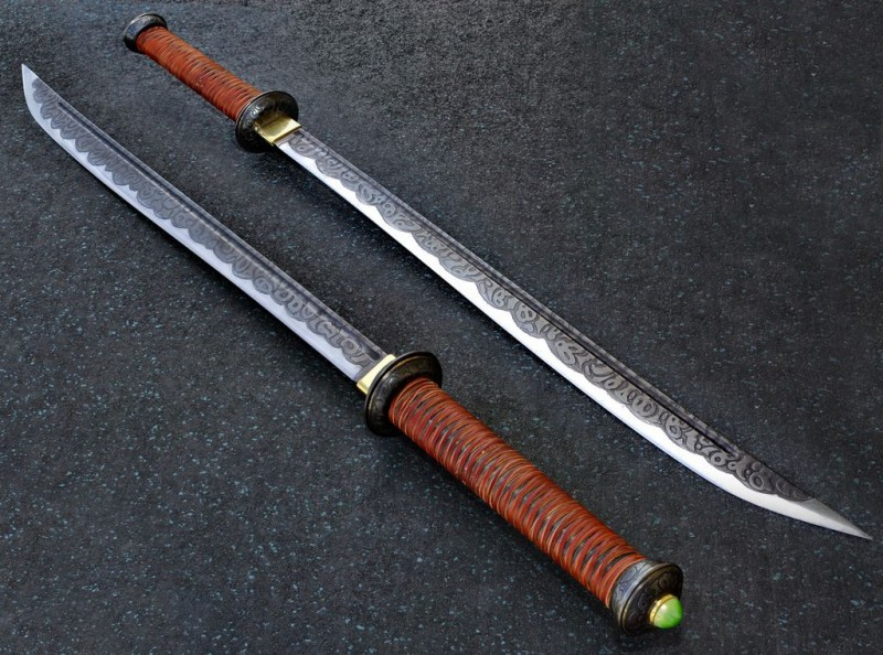 как сделать форму для меча
