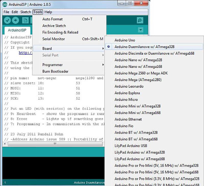 Minimal Arduino with ATmega8 todbot blog