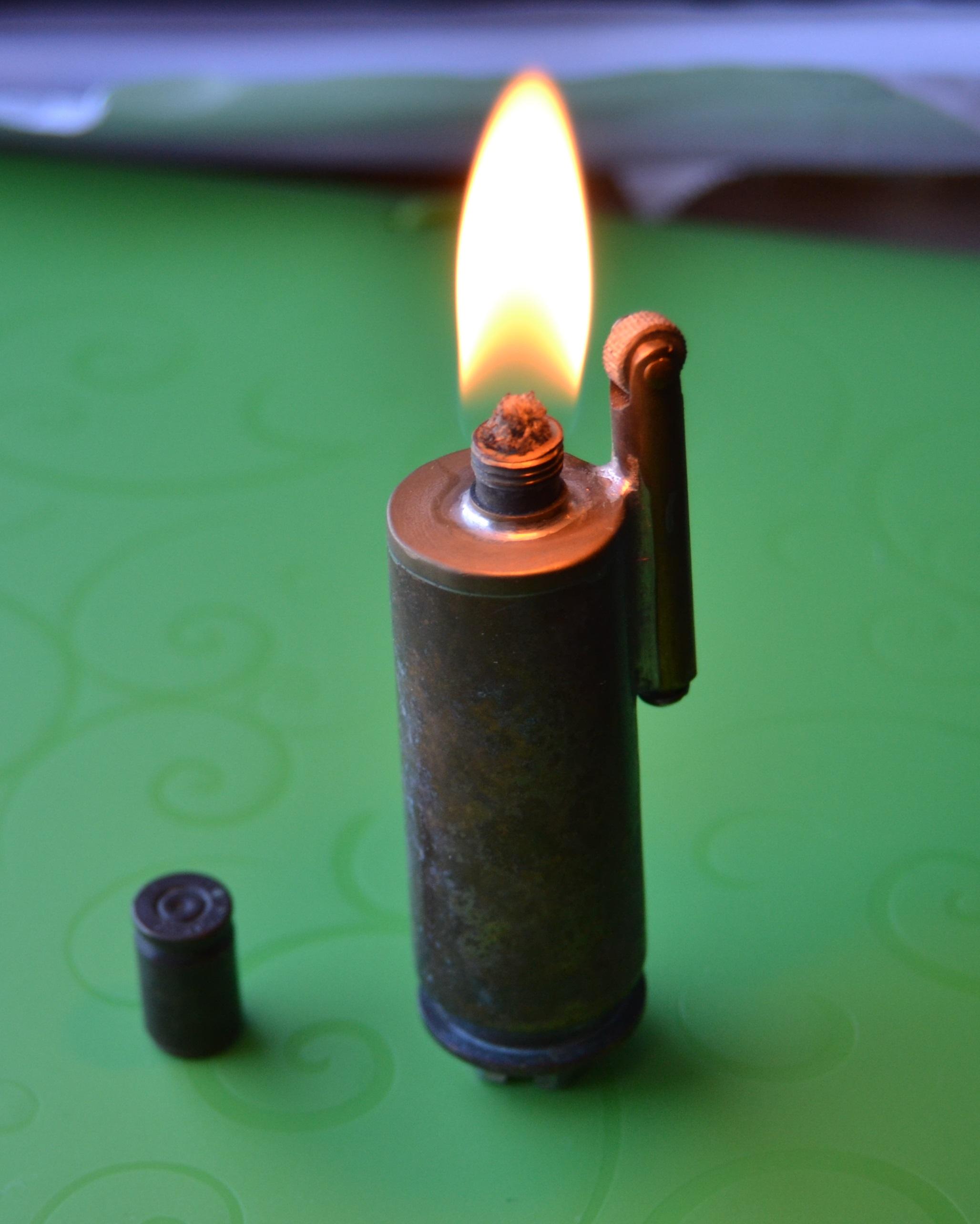 Как из гайки сделать зажигалку