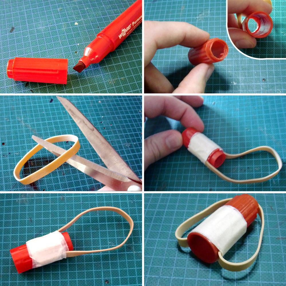 Как сделать рогатку из резинок и скрепки