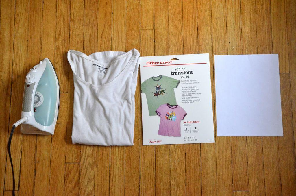 Дизайн на футболке своими руками