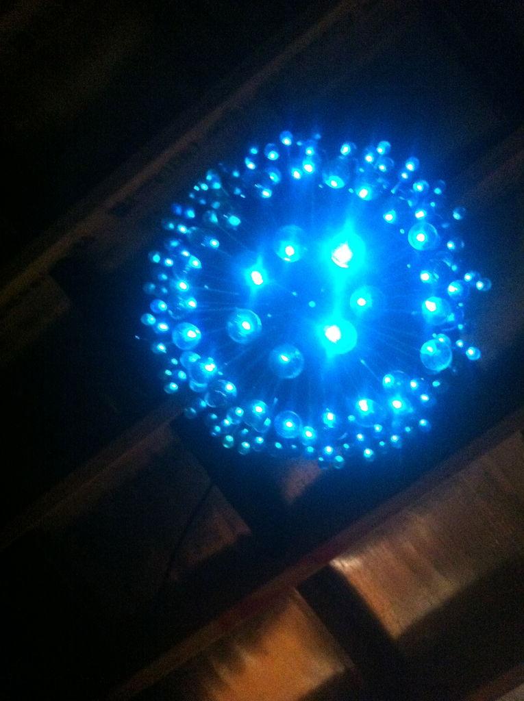 Светильник своими руками с светодиодами