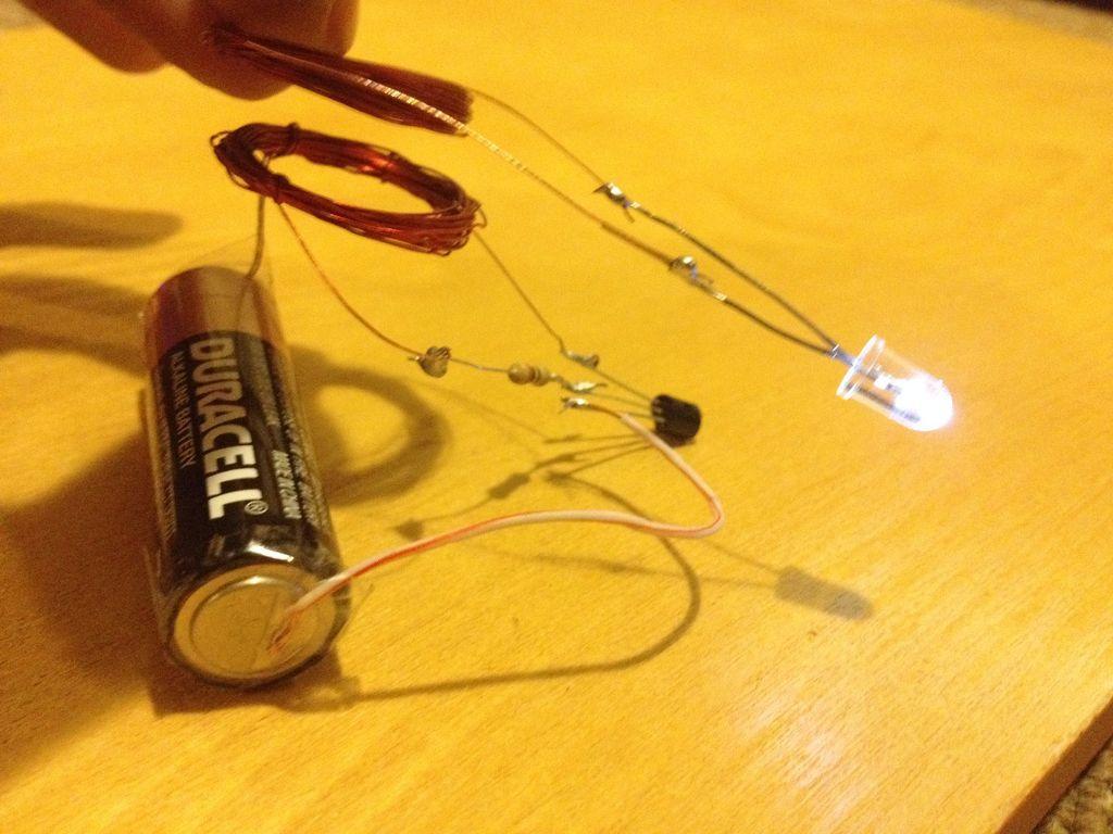 схема паяльника на батарейках