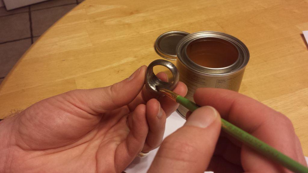 Как сделать что бы кольцо не ржавело