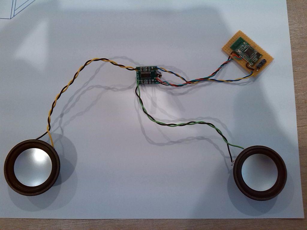 Беспроводные колонки для компьютера своими руками