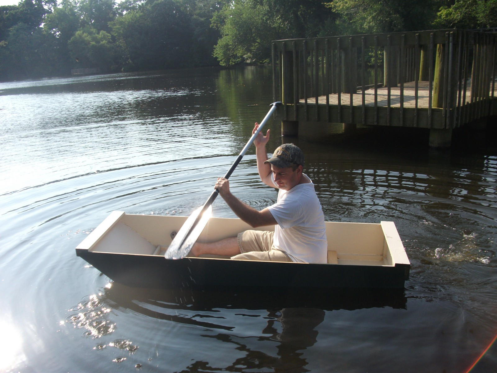 Из пенопласта лодка своими руками фото