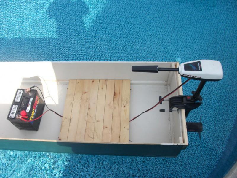 электрическая лодка своими руками