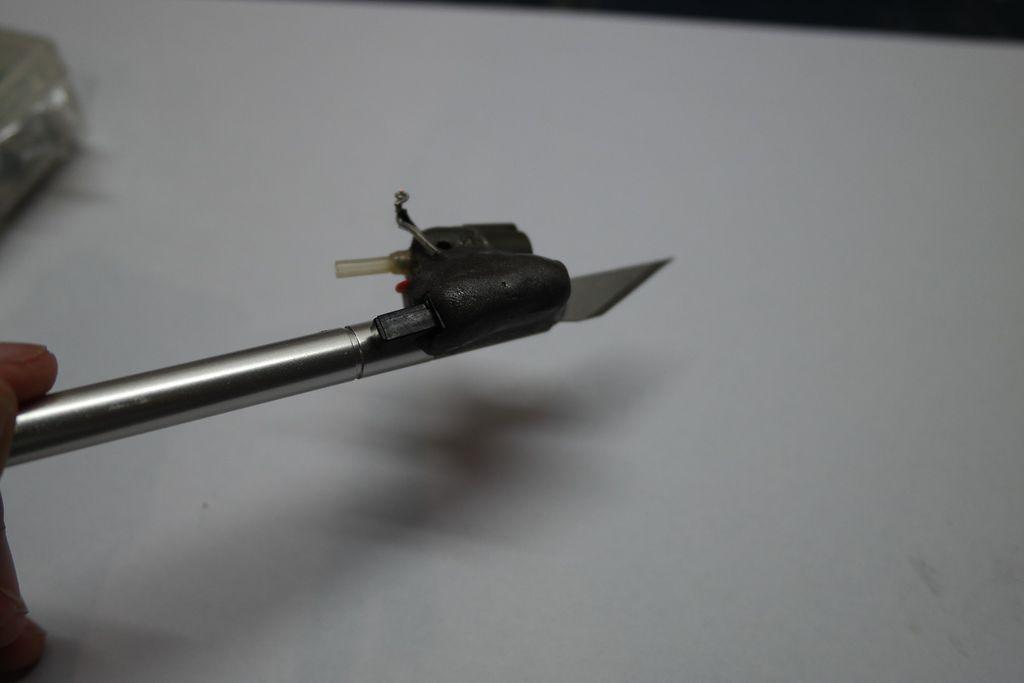 Как сделать горячий нож для резки пластика