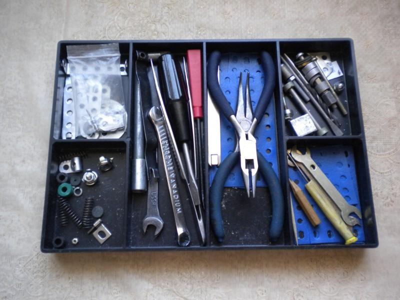 Модели из металлических конструкторов - примеры самоделок (21)