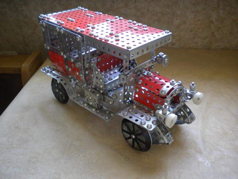 Модели из металлических конструкторов - примеры самоделок (22)