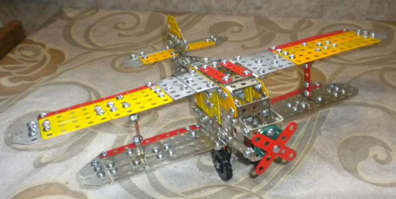 Модели из металлических конструкторов - примеры самоделок (4)