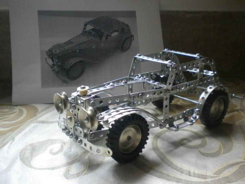 Модели из металлических конструкторов - примеры самоделок (8)