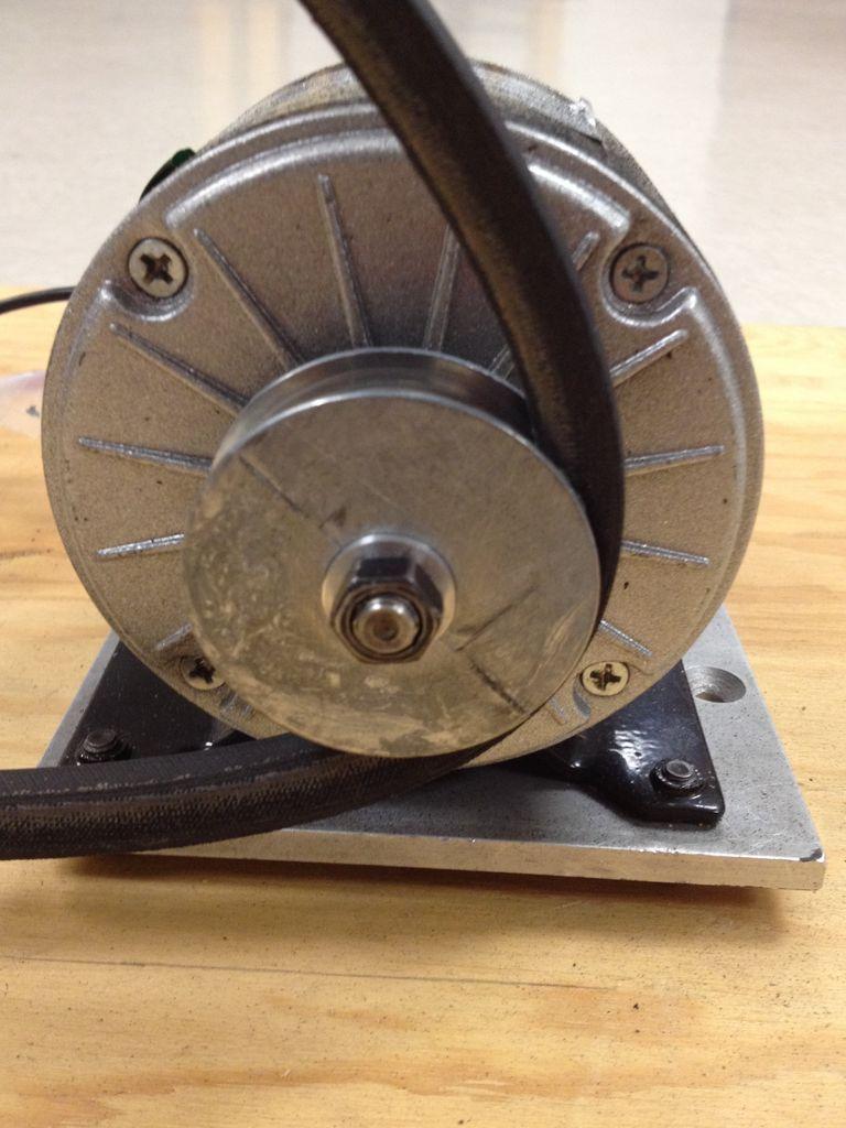 Как сделать шкив для электродвигателя 133