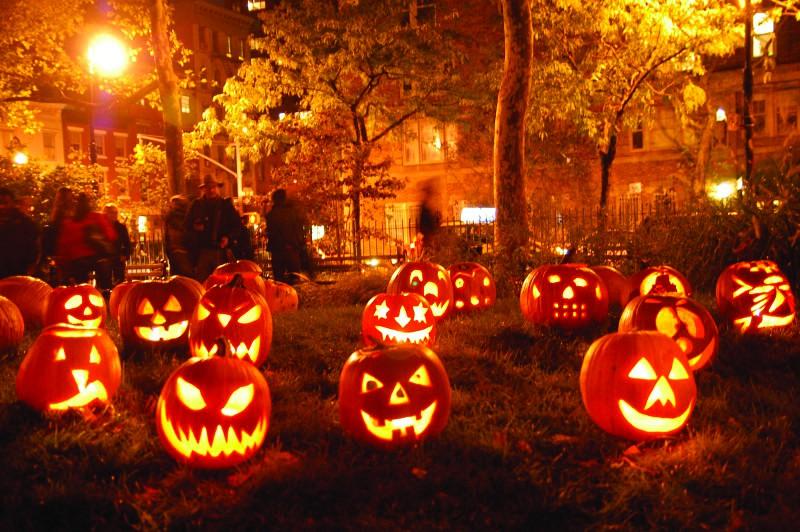 Самоделки к Halloween'у Хэллоуин
