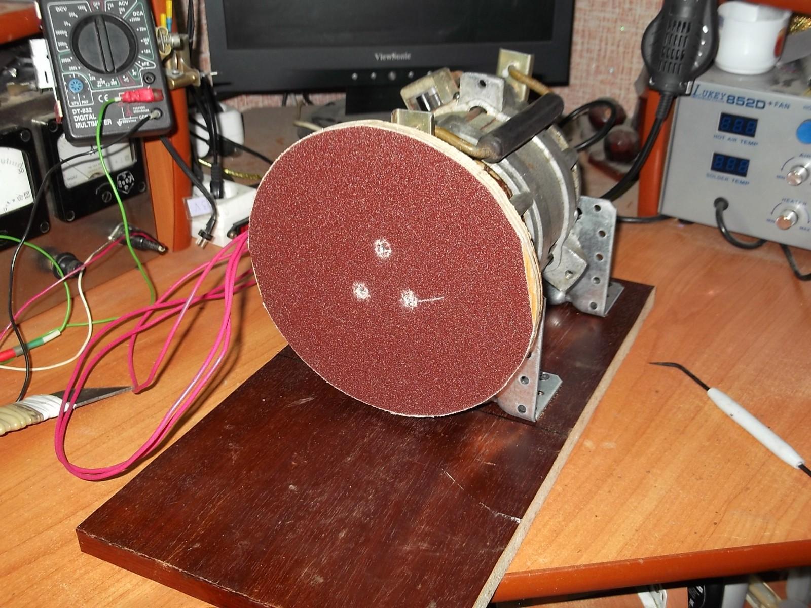 Как сделать ленточный шлифовальный станок 78