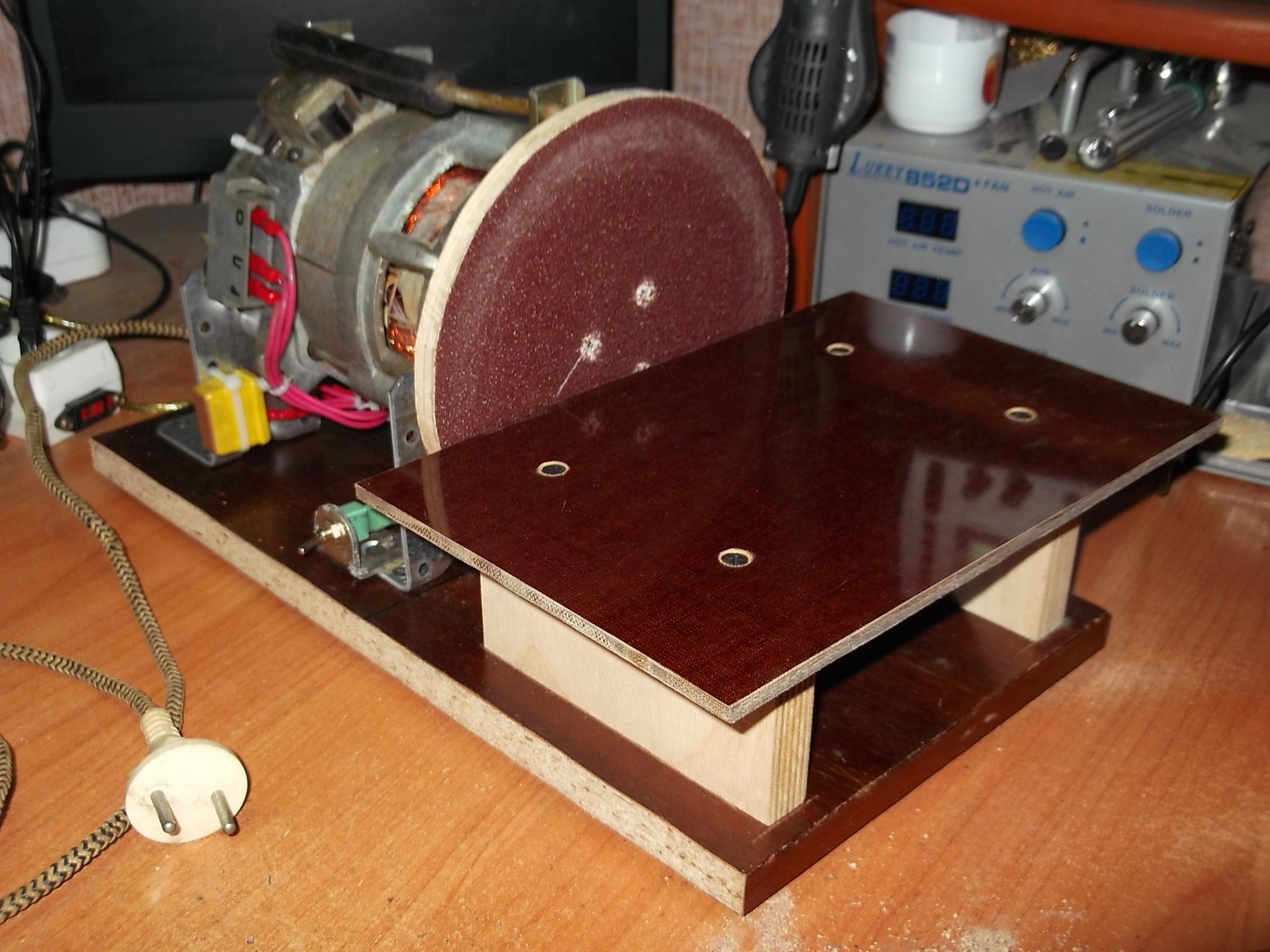 Как сделать ленточный шлифовальный станок 73