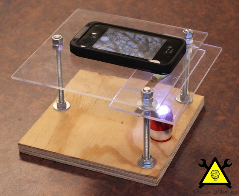 Простейшее устройство в домашних условиях